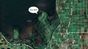 Torry Island in Lake Okeechobee